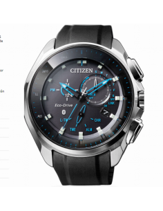 Citizen. Eco Drive. Caballero. Bluetooth. Caucho