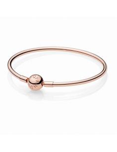Brazalete. Pandora. Rosé. 17 cm