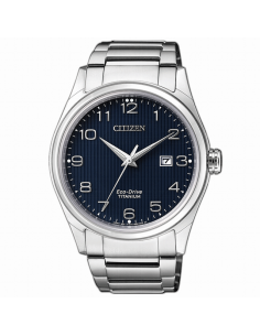 Citizen. Caballero. Eco Drive. Super Titanium.